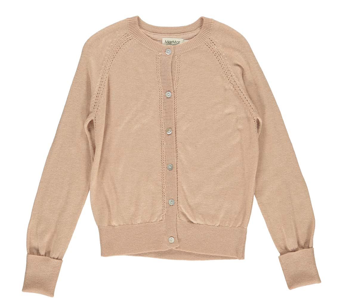 Marmar Copenhagen - Tillie Super Light Knit, Knitwear sheer rose