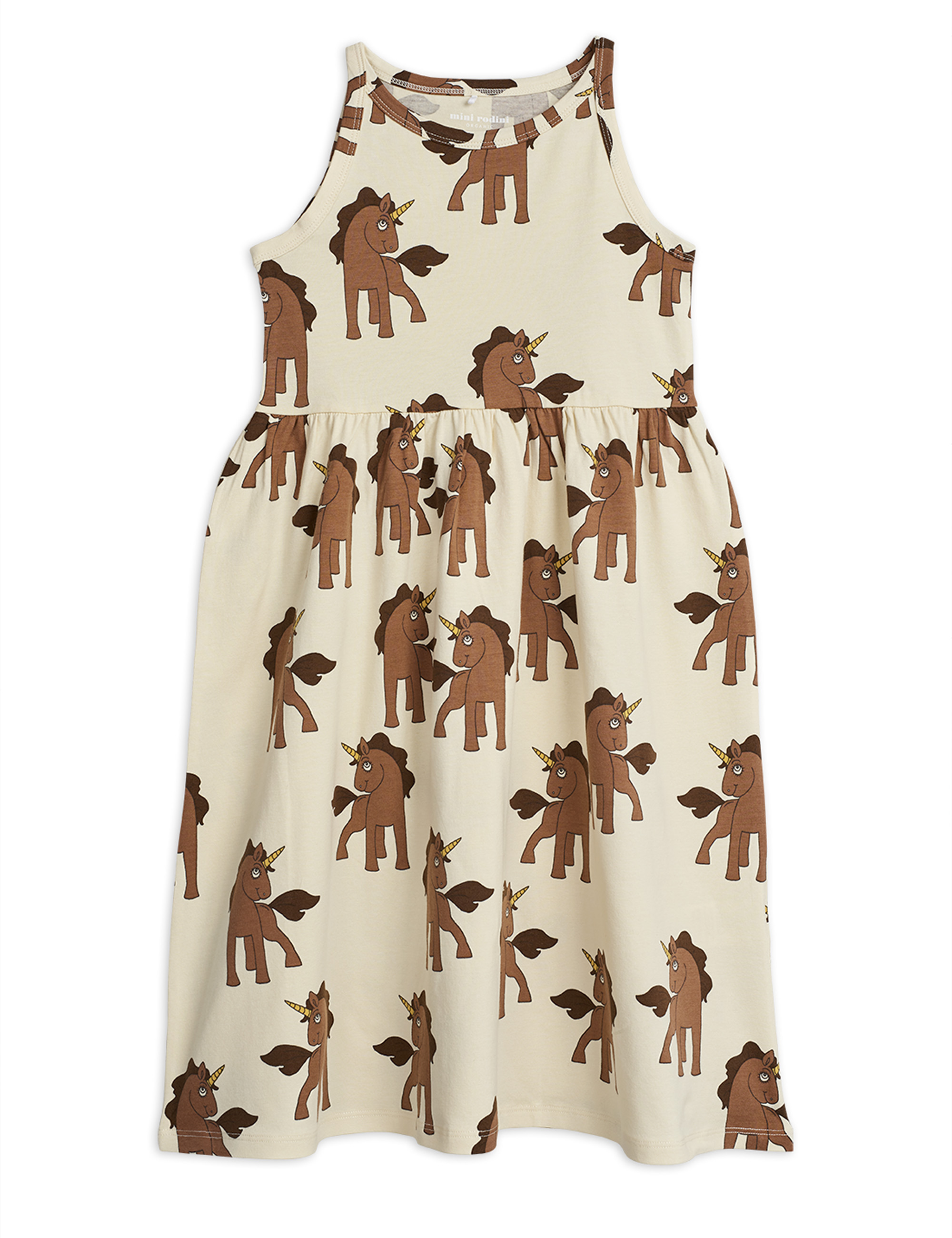 Mini Rodini - Unicorns aop tank dress