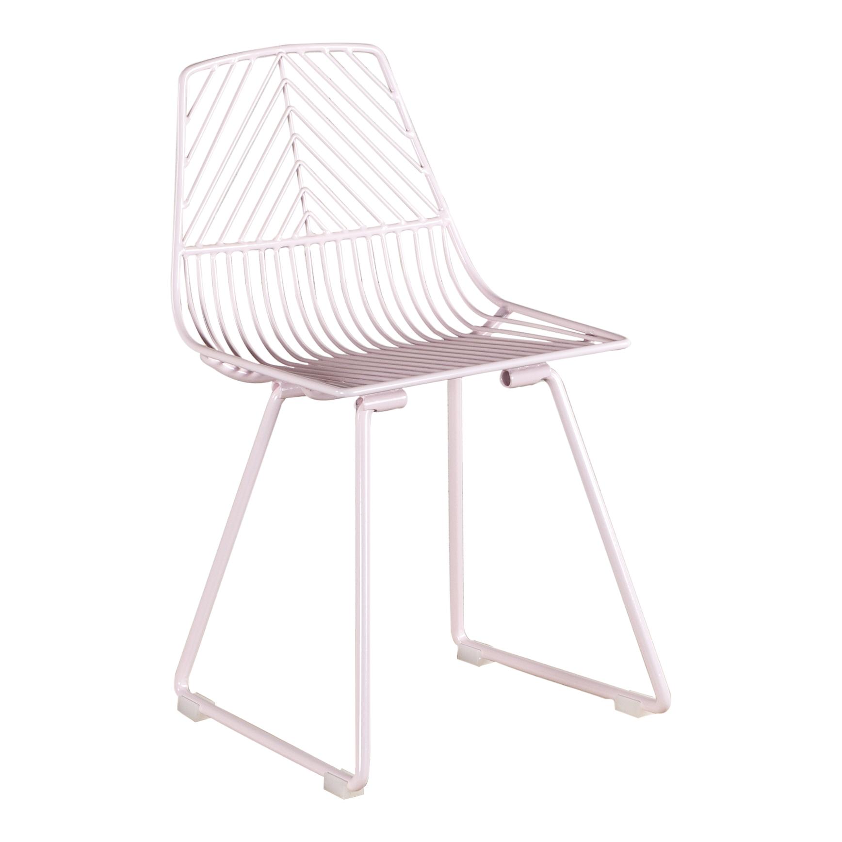 KUU wire chair pink