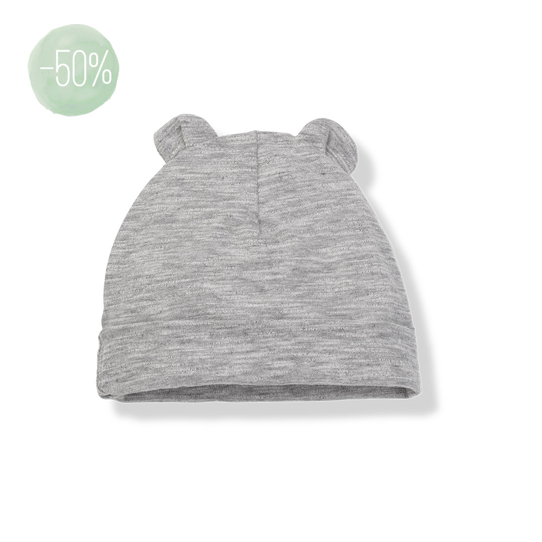 One+ in the familie - LEO bonnet - light grey