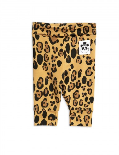Mini Rodini - Basic leopard leggings NEWBORN