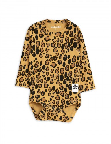 Mini Rodini - Basic leopard ls body beige