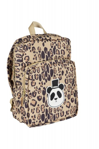 Mini Rodini - Panda backpack beige