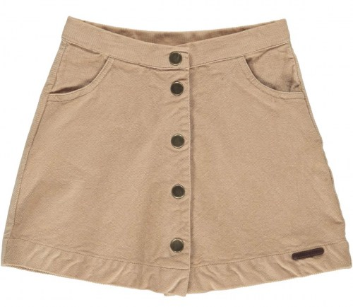 Marmar Copenhagen - Sabbie, Stretch Cord, Skirt, Kids Girl Terracotta Sand