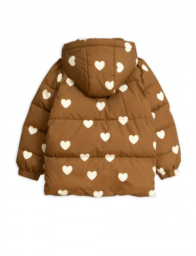 Mini Rodini - Hearts pico puffer Jacket