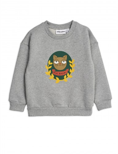 Mini Rodini -  Badge SP sweatshirt grey