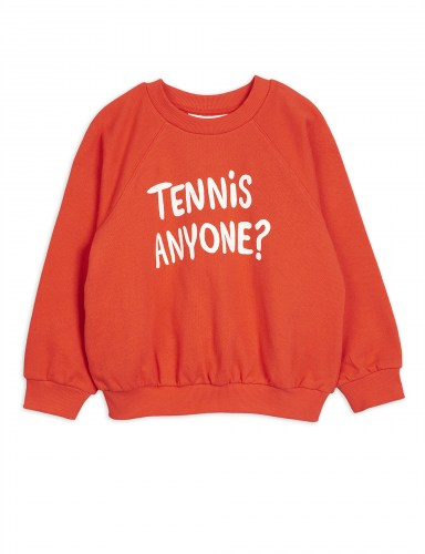 Mini Rodini - Tennis anyone sp sweatshirt red