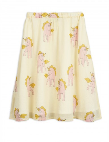 Mini Rodini - Unicorns woven long skirt