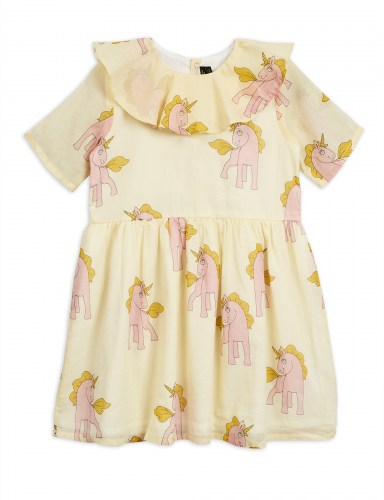 Mini Rodini - Unicorns ss woven dress