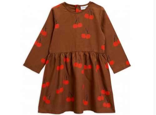 Mini Rodini - Cherry woven ls dress