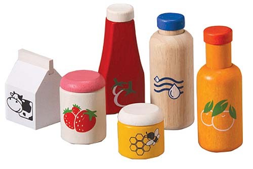Plan Toys -  Food and beverage set