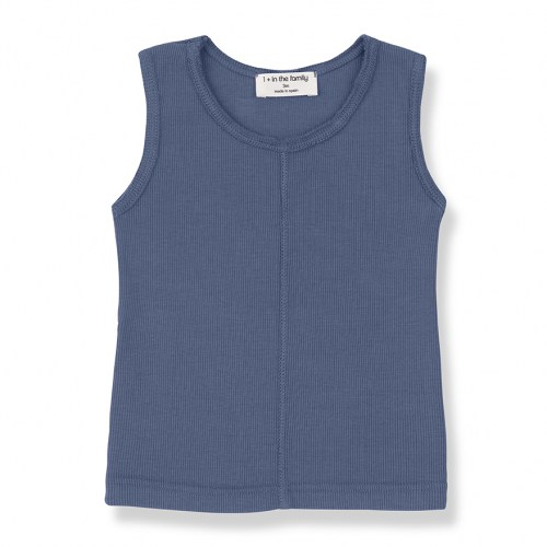 One+ in the family - Lea tanktop azzurro