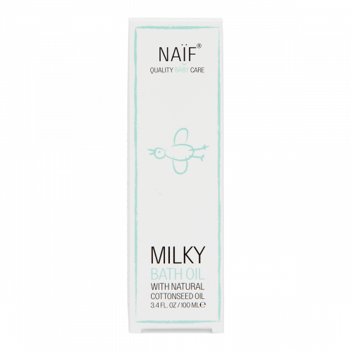 Naïf Baby Milky Bath Oil Box6
