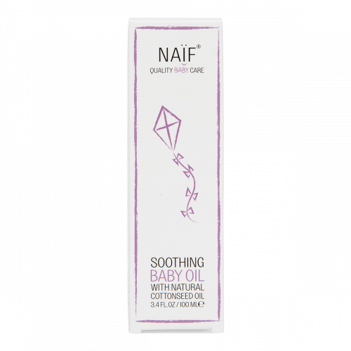 Naïf Baby Soothing Baby Oil Box
