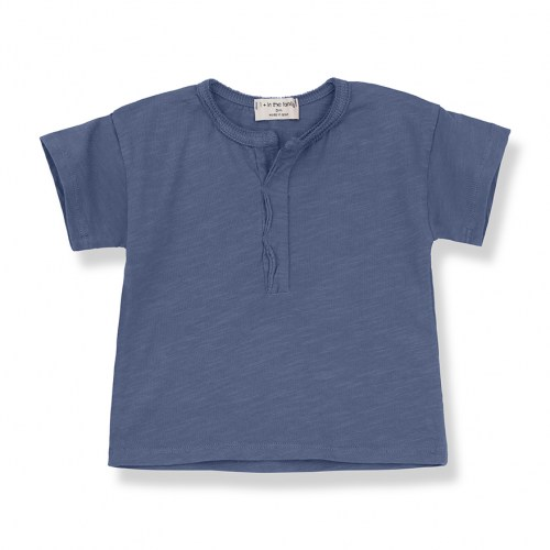 One+ in the family - padua tshirt azzurro