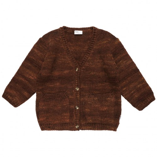 Maed for mini - Rusty rabbit knit cardigan
