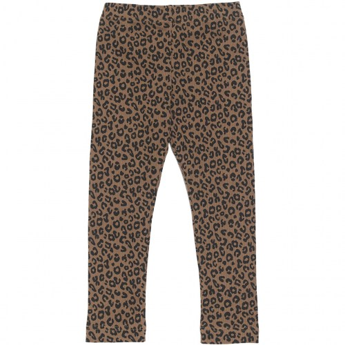 Maed for mini - Brown leopard legging