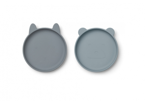 Liewood - Olivia plate - 2 pack