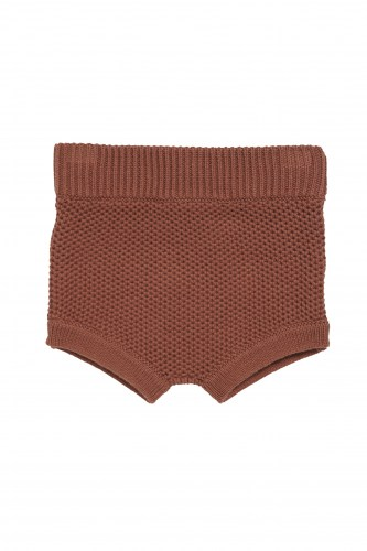 Maed for mini - Busy bear knit bloomer
