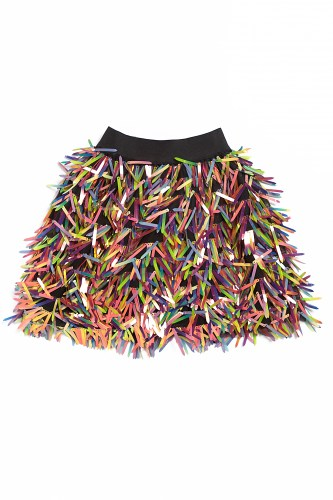 Maed for mini - Disco donkey short skirt