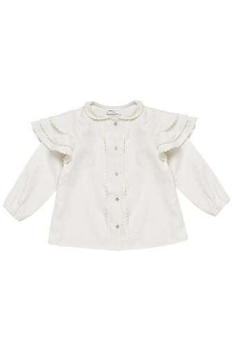 Maed for mini - Romantic rabbit blouse